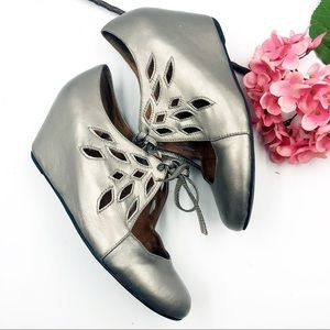 Jeffrey Campbell | Pewter Wedges
